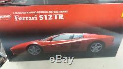 Ferrari 512 TR Red Kyosho 118
