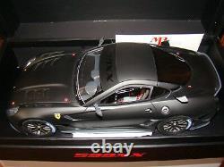 Ferrari 599xx Mr Collection 1/18 Eme Noir Matt Limited Edition 25 Pcs Rare