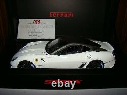 Ferrari 599xx Mr Collection Bianco Avus 1/18 Eme Limited Edition Tres Rare
