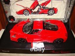 Ferrari Enzo Bbr Rouge Jantes Noir Echelle 1/18 Eme Limited Edition 399 Pcs