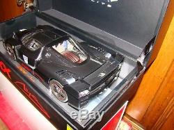 Ferrari Enzo Fxx Personal Car M. Schumacher Noir Super Elite 1/18 Eme Rare