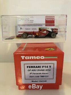 Ferrari F14T Alonso TMB031 TAMEO 1/43