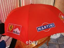 Ferrari F1 Parapluie Officielle Ferrari Team Marlboro Unique Et Tres Rare