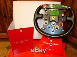 Ferrari F2001 Michael. Schumacher Volant F1 1/1 Scale Limited Edition Rare