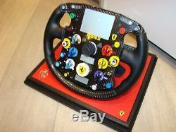Ferrari F2003 Ga Michael. Schumacher Volant F1 Amalgam 1/1 Scale Limited Rare