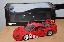 Ferrari F40 Hotwheels Elite 1/18 en boite