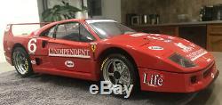 Ferrari F40 Pocher Echelle 1/8 Segafredo/independente