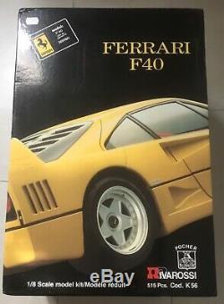 Ferrari F40 Pocher Jaune 1/8 Rare Neuf