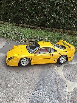 Ferrari F40 in gelb von Pocher Rivarossi 1/8 K56 Top-Zustand