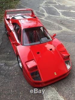 Ferrari F40 in rot von Pocher Rivarossi 1/8 K55