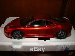 Ferrari F430 Bbr Rouge Met. F1 Echelle 1/18 Eme Limited Edition Superbe Rar