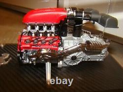 Ferrari F430 Moteur Echelle 1/10 Eme Limited Edition A Voir Superbe Et Tres Rar