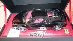 Ferrari F458 Italia Black Au 1/18 Par Bbr