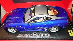 Ferrari F599 Gto Bleu Tour De France Au 1/18 Par Bbr
