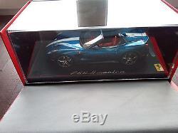 Ferrari F60 America Bleu Nart 2014 1/18 Bbr