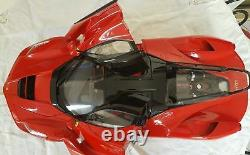 Ferrari Kit Laferrari By Hachette Rouge Echelle 1/8 Eme Limited Tres Tres Rare