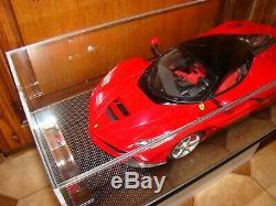 Ferrari Laferrari Amalgam Rouge Rosso Corsa 1/12 Eme Limited Edition Tres Rar