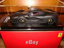 Ferrari Laferrari Mr Collection One Off Noir Matt 1/18 Eme Limited Rare