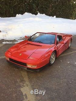 Ferrari Testarossa Cabrio Pocher Rivarossi 1/8 K54 Top-Zustand