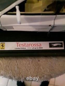 Ferrari Testarossa Miami Vice Hotweels Elite 1/18 neuve