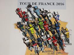 Figurine Cycliste Cyclist Figure Tdf 2016 Cof Tour Complet 22 Equipes