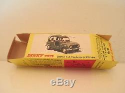 French Dinky 815 Renault 4l Sinpar 4x4 Gendarmerie Mib 9 En Boite Very Nice L@@k