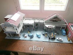 Garage shell agence citroen garage moderne 1 43e - Garage miniature citroen ...