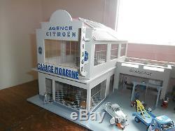 GARAGE SHELL AGENCE CITROEN GARAGE MODERNE 1/43e