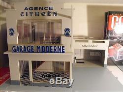 GARAGE SHELL AGENCE CITROEN Garage Moderne 1/43