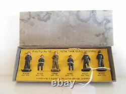 GB Dinky 150 Royal Tank Corps Personnel Vnmib Uncommon Set Peu Courant L@@k