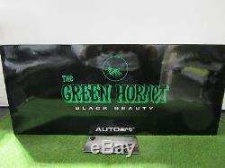 GREEN HORNET BLACK BEAUTY film 1/18 d AUTOART 71546 voiture miniature collection
