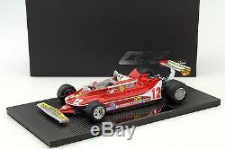 G. Villeneuve Ferrari 312T4 #12 2. Place GP France formule 1 1979 118 GP Replic