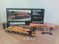 Grue Liebherr LTM 1800 SCHMIDBAUER YCC 1/50 neuf