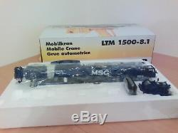 Grue Liebherr Ltm 1500 Msg Wsi. 1/50 With Box