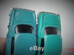 HYPER RARE TURQUOISE(PAS bleu) DINKY TOYS France 527 ALFA ROMEO coupé quasi NEUF