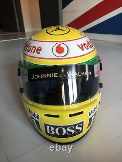 Hamilton Helmet F1 Arai SK5 Mclaren