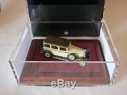 Heco-miniatures 1/43 Delage D8 Berline 415m Beige / Marron