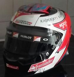 Helmet 1/1 bell rs7 replica kimi raikkonen ferrari 2015