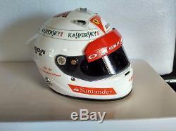 Helmet 1/2 / Casque / Casco Vettel First Test Ferrari 29/11/2014