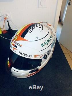 Helmet F1 Full Size Vettel 2017 Arai Gp5 With Hans Clip