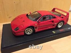 Hot Wheels Elite Ferrari F40 1/18 New In Box