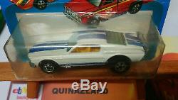 Hot Wheels Flying Colors Mustang Stocker Made in France bulle fendu (9974)