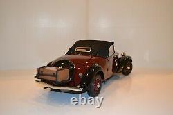 Ixo-Hachette. Citroën Traction Avant 11 BL Cabriolet 1939. Modèle monté. E 1/8