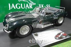 JAGUAR XKSS 1956 cabriolet vert 1/18 AUTOart 73511 voiture miniature collection