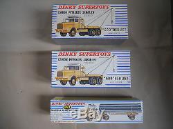 Jouets Anciens Dinky Toys Exceptionnel Lot 56 Modeles Neufs En Boites D'origine