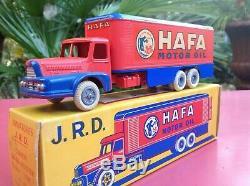 JRD Réf. 126 Camion UNIC HAFA boite d'origine très très proche du neuf J. R. D