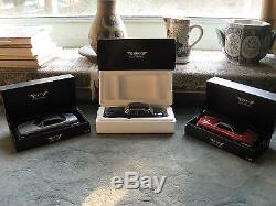 Jaguar Collection 18 pieces (1/18 and 1/43 scales) Rare and Collectible