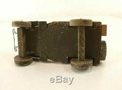 Jeep Willys US ARMY en bois de 13 cm