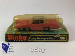 Jouet Ancien D'epoque Dinky Toys 100 Rolls Royce Lady Penelope's Fab 1