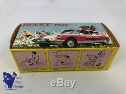 Jouet Ancien D'epoque Dinky Toys France 1404 Citroen ID 19 Rtl Avec Boite